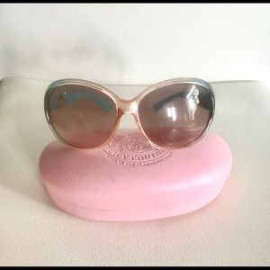 Juicy Couture sunglasses  & case.Perfect condition